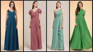 Trendy Long Bridesmaid Dresses Collection