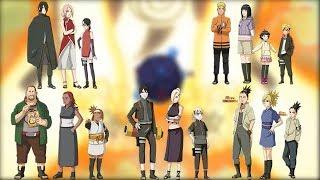 Топ-5 семей из аниме Боруто