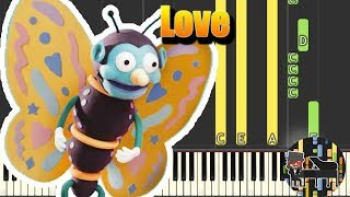 🎵 Love Song - Don't Hug Me I'm Scared 3 [Piano Tutorial] (Synthesia) HD Cover