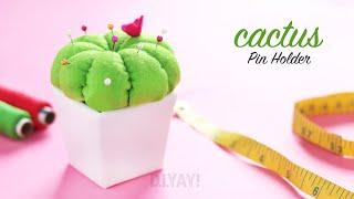 Pin Holder DIY | DIY Cactus Pincushion | How To Make A Pincushion