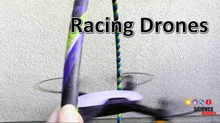 Racing Drones: Does Practice Make you Faster?