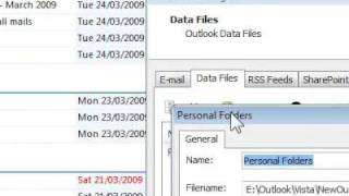How to reduce the size of Outlook data files