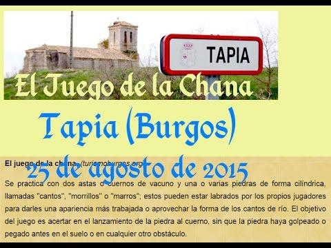 Juego de la Chana. Tapia (Burgos) 2015