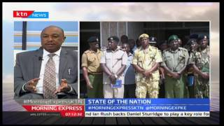 State Of The Nation: Government war on drugs a notch higher