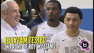 Jelly Fam Gets TESTED By Undefeated Team! Roy Williams Watches Precious Dominate!