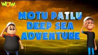 Motu Patlu Cartoons In Hindi |  Animated Movie | Motu Patlu Deep Sea Adventure| Wow Kidz