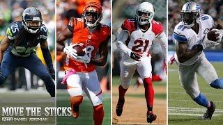 Richard Sherman vs. A.J. Green   Patrick Peterson vs. Calvin Johnson   Move the Sticks   NFL
