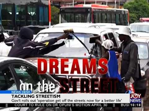 Tackling Streetism - News Desk on JoyNews (12-4-18)