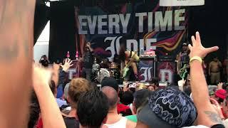 Roman Holiday Every Time I Die San Antonio Warped Tour 2018