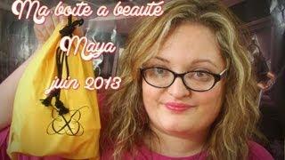 preview picture of video '♥♥♥ Ma boite à beauté MAYA juin 2013  ♥♥♥'