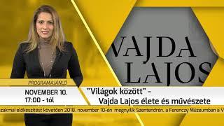 Programajánló / TV Szentendre / 2018.11.08.