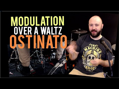 An advanced lesson explaining how I used an ostinato with my feet to create a cool sounding groove.