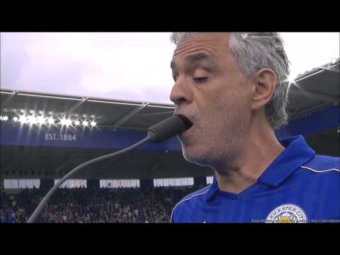 Andrea Bocelli performing Nessun Dorma and Con Te Partirò at Leicester