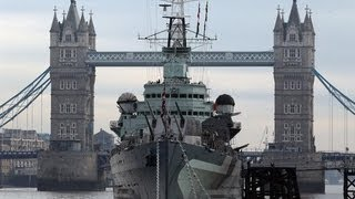 preview picture of video 'Creepy Places Global: HMS Belfast'