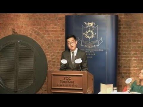 Líder independentista hongkonés pide a EEUU y Reino Unido ayuda contra China