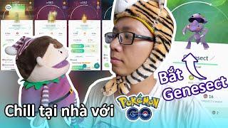 Hoàn thành sự kiện bắt Genesect tại nhà, thêm hẳn 4 shiny mới vào giỏ Pokemon GO