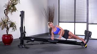 Side Plank with Toe Bar