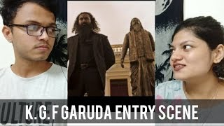 garuda entry scene in kgf movie in hindi - TH-Clip