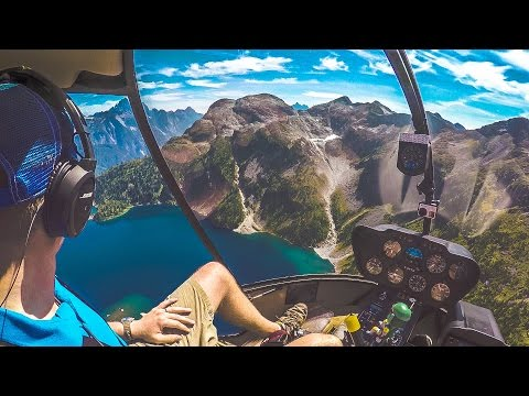 Padající helikoptéra