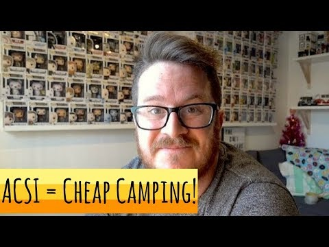 Finding Stunning But Cheap Campsites - ACSI Camping Card