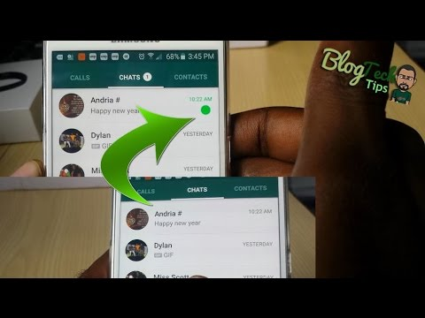 How To Mark WhatsApp Chats As Unread Or Read On Samsung Galaxy Mp3
