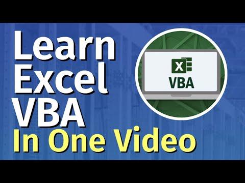 Excel VBA Tutorial for Beginners | Excel VBA Training | FREE Online ...