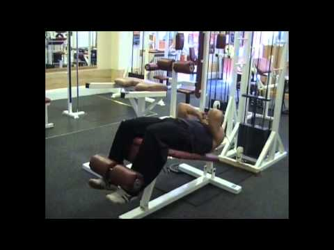 Decline Bench Cable Crunch