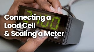 How to wire Omega's Platinum Meter to an S Type Load Cell