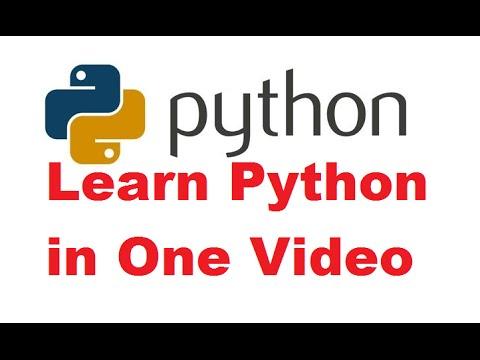 Python Programming Tutorial | Learn Python programming | Python language