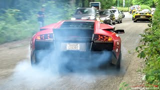 BEST OF Burnouts & Powerslides 2019 ! Murcielago, Demon, LaFerrari, 780HP M4, Veilside RX-7, 600LT
