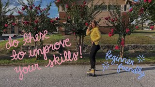 How to improve at roller skating: 10 easy drills to learn how to roller skate!