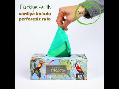 Kokulu Çek-Al Büzgülü Çöp Torbamız satışa başlamıştır.