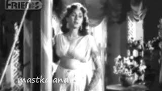 aankho aankho mein Aurat1953_Lata_Hasrat_Shankar