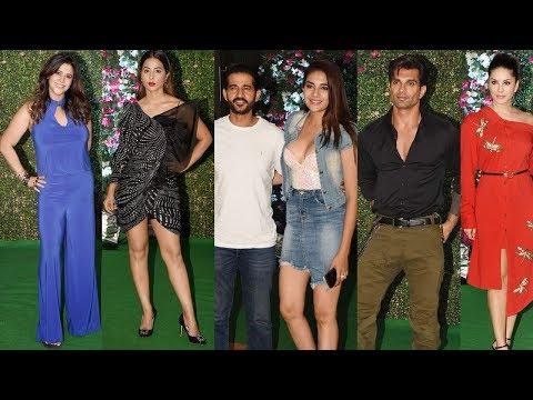 Sunny Leone, Hina Khan & Karan Singh Grover in their STYLISH AVTAR at Ekta Kapoor's PARTY