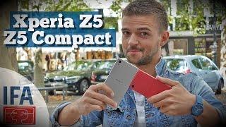 Быстрый обзор Xperia Z5 и Z5 Compact. Такой же, но красивей