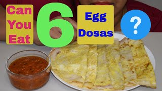 Egg Dosa With Rayalaseema Special Karam