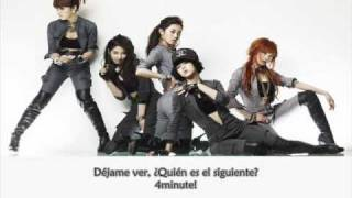 4Minute Feat B2st - Who's Next ~Sub. español~