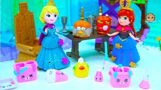 Grossery Gang Series 3 Clean Team Cleaning At Frozen Queen Elsa + Anna's Castle