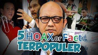 TOP 5 Hoax or Fact: Dari Wangsit Prabowo-Puan hingga Rekayasa Kasus Novel Baswedan