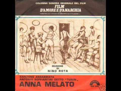 Significato della canzone Canzone arrabbiata di Anna Melato
