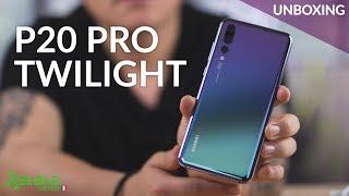 Huawei P20 Pro Twilight, UNBOXING: El alucinante color degradado llega a México