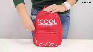 """Рюкзак детский Kite Hello Kitty HK19-547-1 от компании Интернет-магазин """"Радуга"""" - школьные рюкзаки, канцтовары, творчество - видео"""