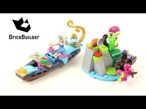 Vidéo LEGO Elves 41181 : La gondole de Naida et le voleur gobelin