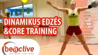 BEACTIVE Dinamikus Edzés és Core Training Cseresnyés Beáta Master Trainerrel