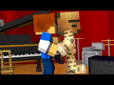 Minecraft Recess - THE KISS !?