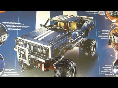 Vidéo LEGO Technic 41999 : 4x4 Crawler Exclusive Edition