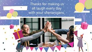 Employee Birthday Wishes