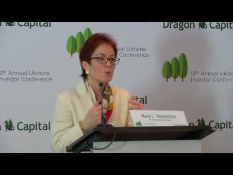 13-та Інвестиційна конференція Dragon Capital. Марі Л. Йованович, Посол США в Україні