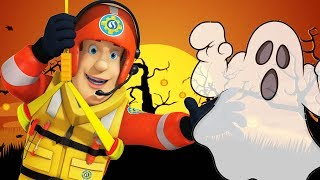 Fireman Sam US New Episodes | Fire Alarm at the Halloween Party 🎃 1 Hour | Videos For Kids