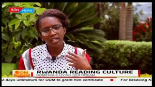 Dominic Alonga-Founder/CEO: Imagine We Rwanda promotes Rwanda's reading culture